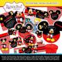 Kit Imprimible Mickey Mouse Cumpleaños Invitaciones #3