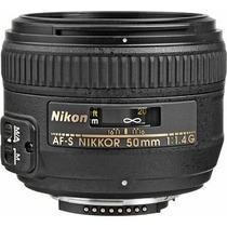Lente Af-s Nikkor 50mm F/1.4g Nuevo Sellado Garantia
