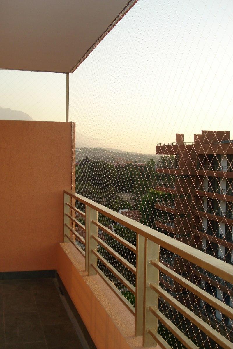 Mallas de seguridad balcones ventanas protecci n - Malla para balcones ...