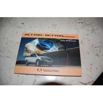 Manual Del Propietario Ssangyong Action Diesel