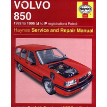 Manual De Taller Volvo 850 1992-1996