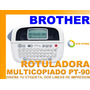 Rotuladora Etiquetas Brother Pt-90 Diseña Oficina Original