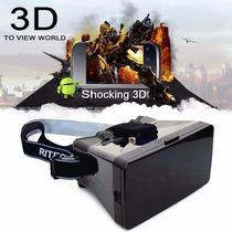 Cardboard Vr Realidad Virtual Smartphone Android Iphone