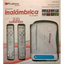 Consola Video Juegos Inalambrica Fujitel 198 Juegos - No Wii