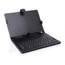 Teclado Tablet 7´ Usb Con Funda Y Accesorios