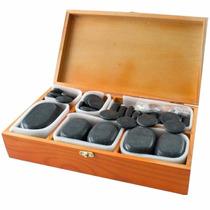 36 Piedras Calientes De Balsato Masaje En Camilla / Fernapet