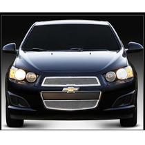 Mascara Cromada Chevrolet Sonic