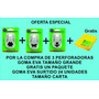 Perforadoras Goma Eva Pack + Regalo