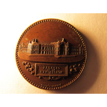 Antigua Medalla Exposicion Internacional De Santiago 1875