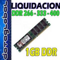 Memorias Ram 1gb Ddr400 Para Pc Comp. Ddr333 Ddr266 Dimm