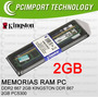 Memoria Ram Ddr2 667 Mhz 2gb Kingston Envio Todo Chile