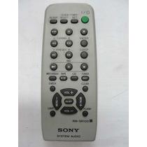 Control Remoto Equipo De Musica Sony Genezi Y Otros
