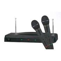 2 Microfonos Inalambricos Profesionales Ideal Karaoke K&k
