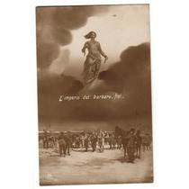 Postal Antigua - 1917 - Imagen Soldados 1° Guerra Mundial.