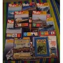 Pack De Revistas Vigías + Posters Armada De Chile
