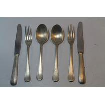 Cubiertos Antiguos Metalicos 6