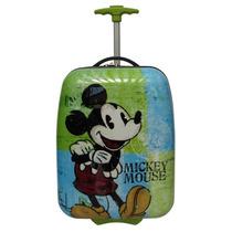 Mochila De Viaje Disney Mickey Con Ruedas Celeste
