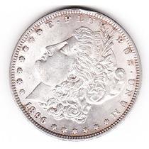 Moneda Un Dolar One Dollar Con Falla De Cuño En Año 96