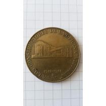 Moneda Conmemorativa Constr. Of. Victoria Cia. Salitrera