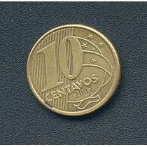 Moneda 10 Centavos De Real Brasil Año 2007
