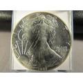 Un 1 Dolar Liberty 1987 Una Onza Plata Fina Impecable 4 Cm