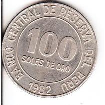 Moneda Peru 100 Soles De Oro Banco Central De Reserva Del