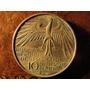Moneda Plata 10 Marcos Alemania 1972 Juegos Olimpicos 3.2cm