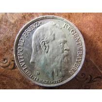 Antigua Moneda Alemania 3 Marcos 1911 D Plata