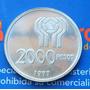 2.000 Pesos Argentina Mundial De Fútbol 1978 Plata
