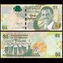 Billete De Bahamas 1 Dollar Año 2008