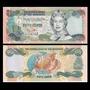 Billete De Bahamas 1/2 0,5 Dollar 50 Cents Año 2001