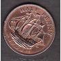 Moneda Half Penny 1938georgivs Vi D:g:bt:omn:rex F:d:ind:imp