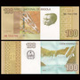 Billete De Angola 100 Kwanzas Año 2012