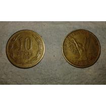 Moneda Chilena 10 Pesos 1986