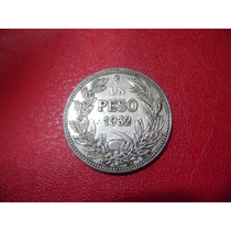 Moneda Chilena 1 Peso 1932