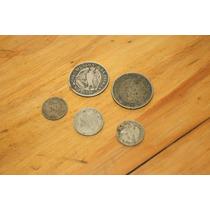 5 Antiguas Monedas Chilenas