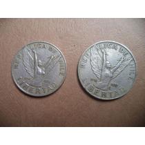 Monedas Chilenas 5 Y 10 Pesos 1980
