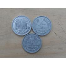 Moneda Chilena De 10 Pesos Un Condor Años 1956 - 1957 - 1958
