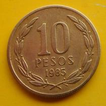 10 Pesos 1985 Muy Escasa