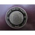 Una Onza Troy 1981 Plata Fina Sellos De Prueba Casa Moneda