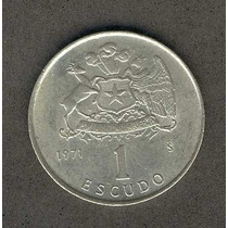 Moneda 1 Escudo Año 1971