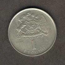 Moneda 1 Escudo Año 1972