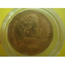 Moneda $50 Pesos Dice Republica De Chiie Año 2008