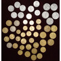 Monedas Chilenas Antiguas - Colección 50 Unidades