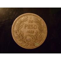 Moneda Antigua 1 Peso 1933