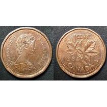 Moneda 1 Centavo. Canada, 1984.