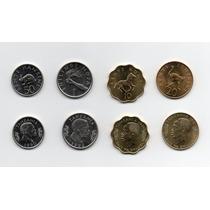 Lote De 4 Monedas Tanzania 10 20 50 Senti, 1 Shilling