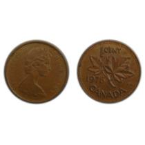 Moneda 1 Centavo. Canada, 1976.