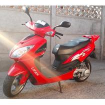 Moto Scooter Lifan Roja En Excelente Estado Año 2015