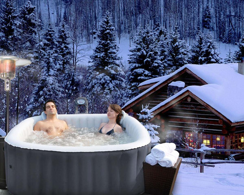 Mspa jacuzzi spa inflable 6 personas alpine en for Jacuzzi para 6 personas precio